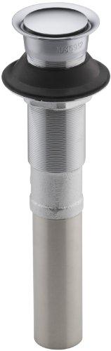 KOHLER K-7124-CP Pop-Up Clicker Drain, Polished Chrome