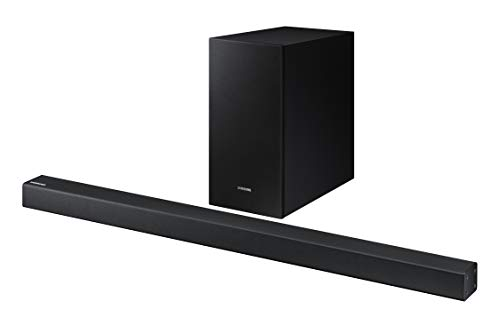 Samsung 2.1 Soundbar HW-R450 with Wireless Subwoofer, Bluetooth Compatible, Smart Sound Mode,...