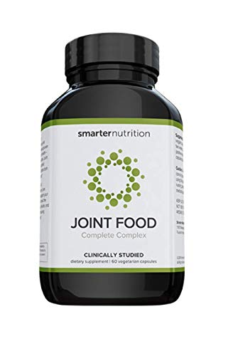 Smarter Joint Food - Joint Nourishment Provides Healing Support & Maintains Healthy Joints - Formulated with Whole Collagen, MSM, Vitamin C, Turmeric, Bromelain, CMO, Lipase (180 Count - 3 Month)