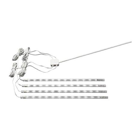 ikea led under cabinet lighting. Delighful Led Ikea Set Of 4 Dioder White LED Strips Undercabinet Lights In Led Under Cabinet Lighting L