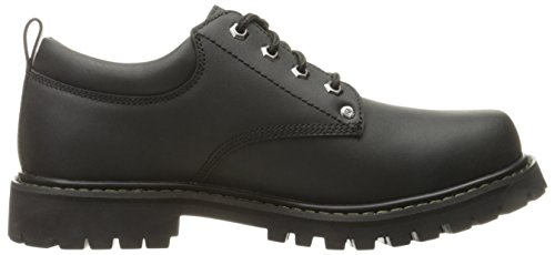 Scarpe Tom Uomo Basse Nero Stringate Skechers Oxford Cats BEPqqa