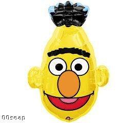 Grabo 31 Inch Sesame Street 'bert' Head Shaped Foil Balloon (cs26)