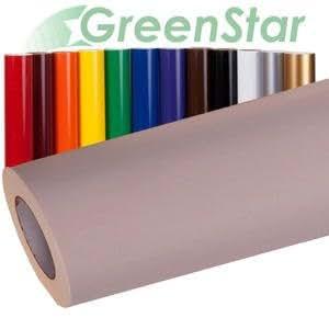 "12"" x 300ft GreenStar Application Transfer Tape + BONUS 6-9ft Long Sign Vinyl, Assorted Colors"