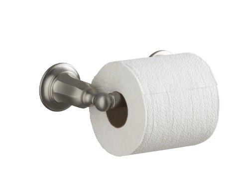 KOHLER K-13504-BN Kelston Toilet Tissue Holder, Vibrant Brushed Nickel