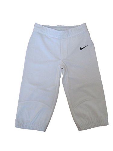 Nike Core Fp 3/4 Pant (Big Kids) Team White/team Black Md (10-12 Big Kids) X One Size