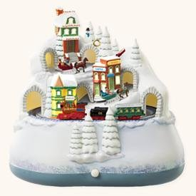 hallmark keepsake home for christmas ornament light sound and motion