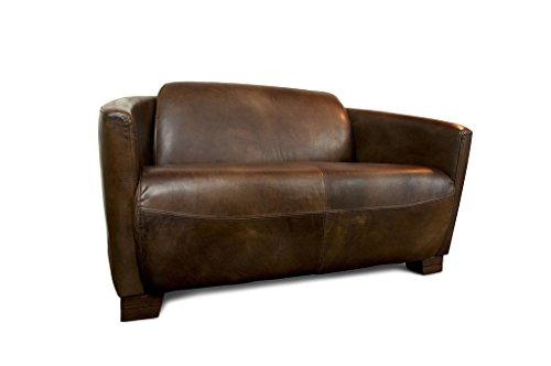 Divano Rosso Pelle : Pib divani divano in pelle barone rosso stile aviazione