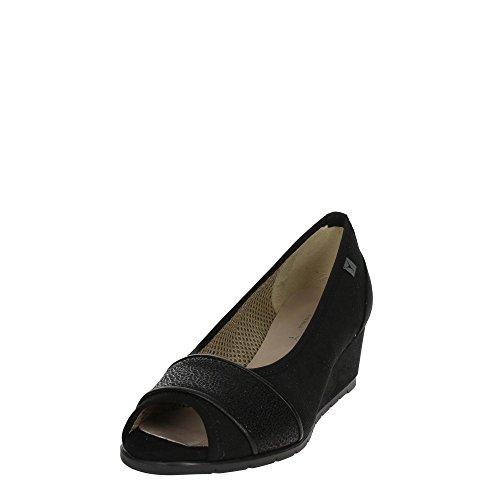 Cinzia Soft IAB331822 Zapatos con Punta Abierta Mujer Negro