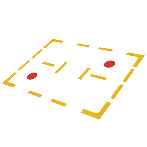 Eco Walker Court Line Marker Kit Create Your Own Pickleball Mini Tennis Court ()