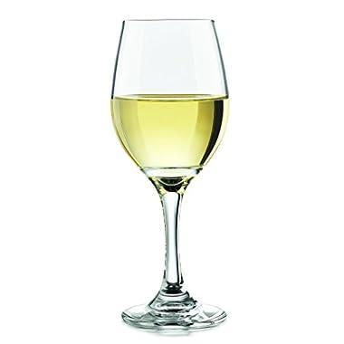 Libbey 3057S4 Basics White Wine Glass, 11 oz, Clear 4 Piece
