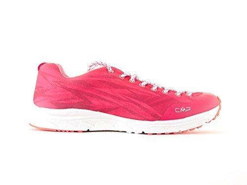 CMP Fitnessschuh Laufschuh Schnürer Sneaker Izar pink Softmesh leicht Gr. 38 3Q95466