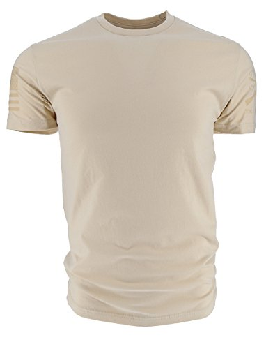 Grunt Style Basic Men's T-Shirt (Small, Ghost Cream) Style Ghost