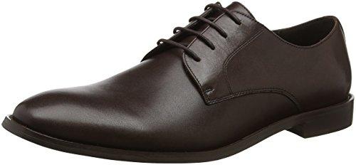 Bertie Particular, Scarpe Stringate Derby Uomo Marrone (Brown Leather)
