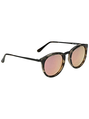 Le Specs Women's No Smirking Sunglasses, Volcanic Tort/Coral Revo, One - Mirrored Sunglasses Le Specs