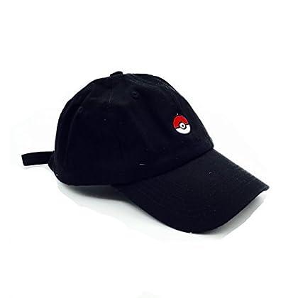 9f949f60cbd B L K Pokeball Dad Cap - Cotton Twill Pokemon Black