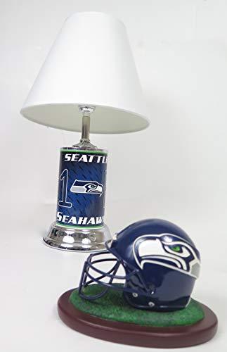 Football Helmet Table Lamp : Seahawks helmet lamps seattle lamp