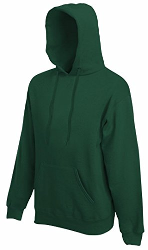 Fruit of the Loom SS068M, Capucha para Mujer verde(Green)