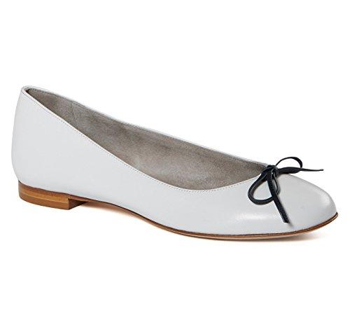 Ballerinas white nappa leather