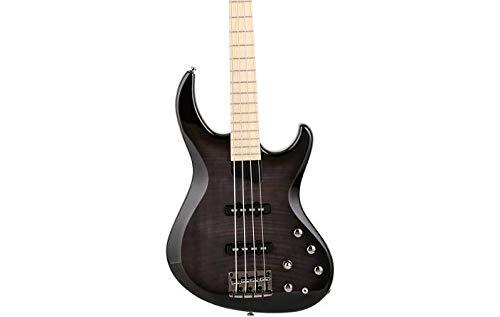 MTD Kingston Saratoga Deluxe Electric Bass Transparent Black Burst