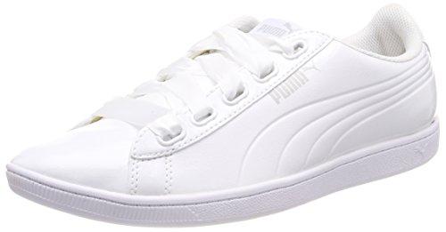 Zapatillas puma puma Para White Mujer Puma Ribbon Blanco Vikky White P qzwzFt4
