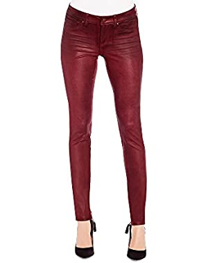 Jessica Simpson Kiss Me Coated Skinny Jeans