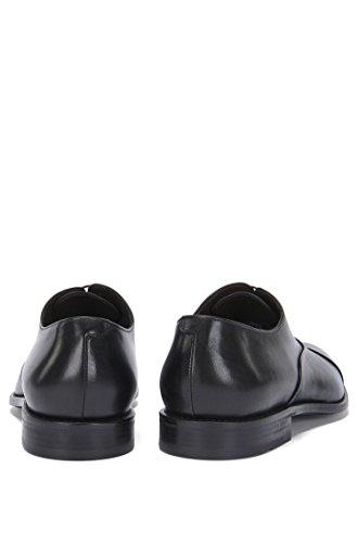 BOSS Hugo Boss - Zapatos de cordones de Piel para hombre negro negro