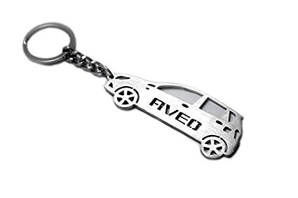 Llavero con anillo para Chevrolet Aveo 5d I acero clave ...
