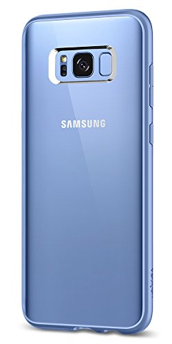 Spigen Ultra Hybrid Galaxy S8 Case with Air Cushion Technology and Hybrid Drop Protection for Samsung Galaxy S8 (2017) - Coral Blue - Blue Hybrid Case