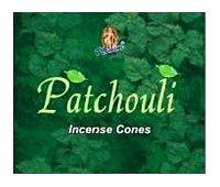 - Patchouli Cones - Kamini Incense - Box of 10