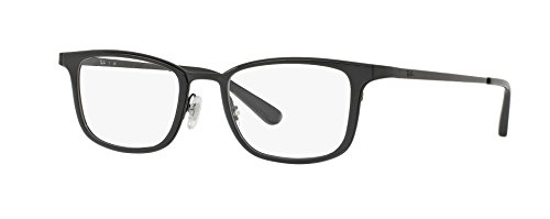 Ray-Ban Men's RX6373M Eyeglasses Shiny Black - Ban Glasses Eye Ray Frames