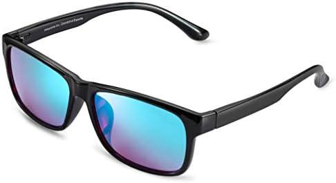 Pilestone 컬러 블라인드 안경 TP-025 티타늄 코팅 퍼플 렌즈 실외 및 실내 사용 / Pilestone 컬러 블라인드 안경 TP-025 티타늄 코팅 퍼플 렌즈 실외 및 실내 사용