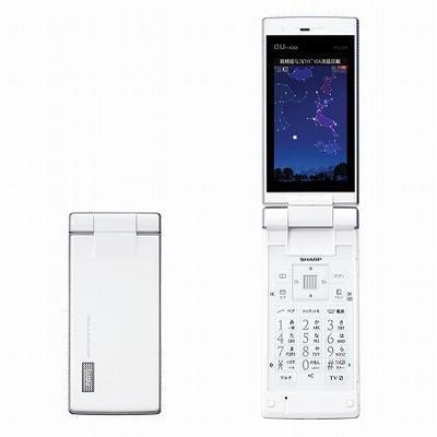 W62SH(パールホワイト)