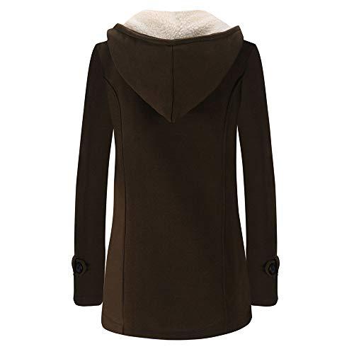 café femme taille Sumtter chaud à grande Manteau capuche avec d'hiver veste et wTv4a