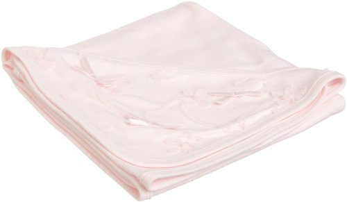 Biscotti Baby-girls Newborn Tickled Blanket In Netting Bag