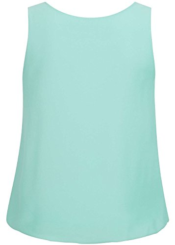 violet Fashion - Camiseta sin mangas - para mujer Mint Grün