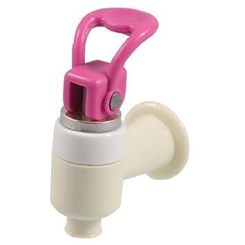 Substituição DealMux dispensador de água Rodada tomada de plástico torneira Toque Fúcsia Marfim