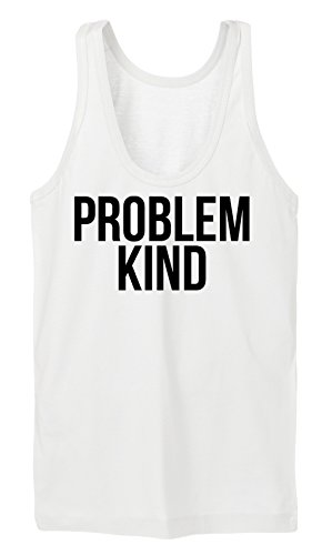 Problem Kind Tanktop Girls White