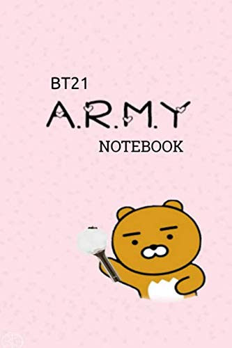 BT21 A.R.M.Y NOTEBOOK