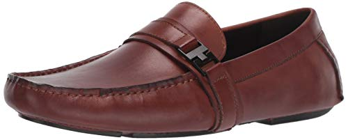 Kenneth Cole REACTION Men's Sound Driver B Driving Style Loafer, Cognac, 11 M US