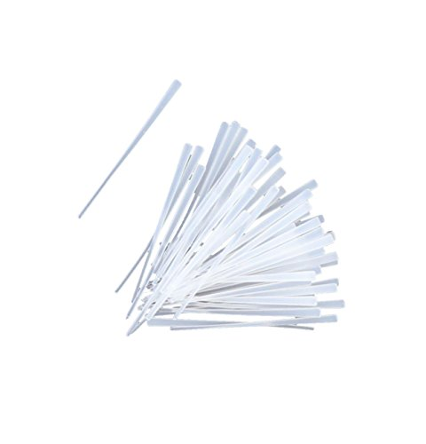 Top Brass Bead Peg-It, 100 Piece Bulk Pack, Natural Clear Color (Top Shot Fishing Line compare prices)