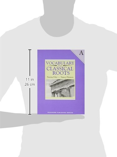 Amazon.com: Vocabulary from Classical Roots - A (9780838822524 ...