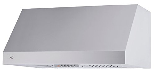 XOT1836S XO Range Hood Stainless Steel Wall Mount Pro Style, 36'' wide 18'' tall, 600 CFM, Premium Italian Quality by XO