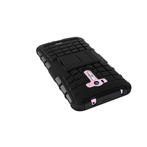 Asus Zenfone Selfie ZD551KL Funda,COOLKE Duro resistente Choque Heavy Duty Case Hybrid Outdoor Cover case Bumper protección Funda Para Asus Zenfone Selfie ZD551KL (5.5 inches) - Blanco negro