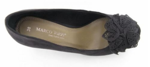 MARCO TOZZI WOMEN'S PEEP-TOE SHOES BLACK 8pbqmVhzXd