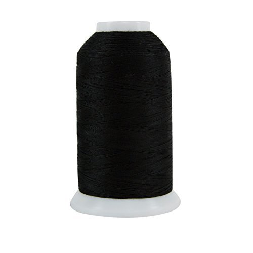 Superior Threads King TUT Egyptian Grown 40wt 3-Ply Cotton Thread, Ebony