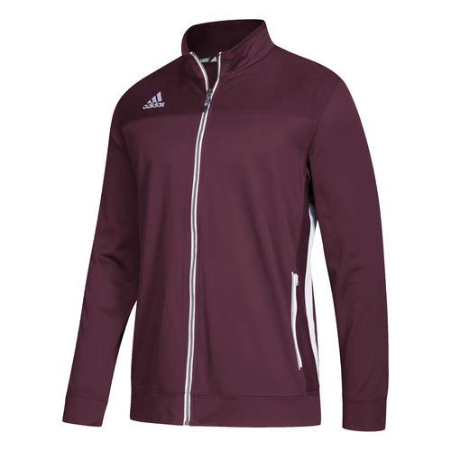 3a13cf46db adidas Men s Adult Utility Jacket Full Zip Sport Climalite Color ...