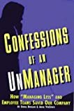 Confessions of an Unmanager, Debra Boggan and Anna Versteeg, 085013272X