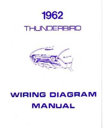 image unavailable  image not available for  color: 1962 ford thunderbird wiring  diagrams schematics