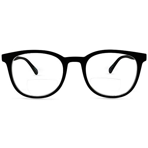 - In Style Eyes Envy Classic BiFocal Reading Glasses (Black 1.75)