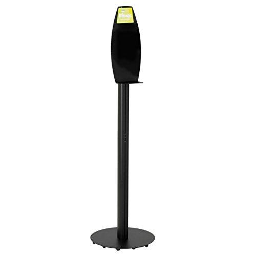 "Kimberly Clark Electronic Cassette Dispenser Floor Stand (11430), 17.7"" x 57.4"" x 17.7"", For Skin Care & Hand Sanitizer, Black"